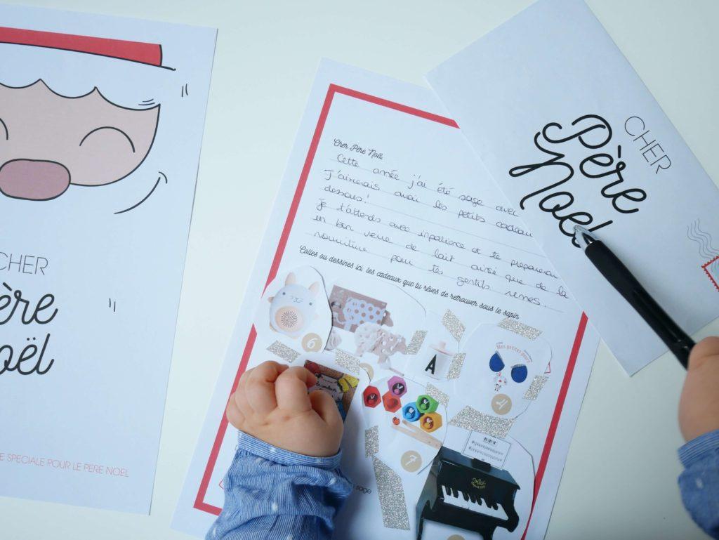 DIY Lettre au Père Noël