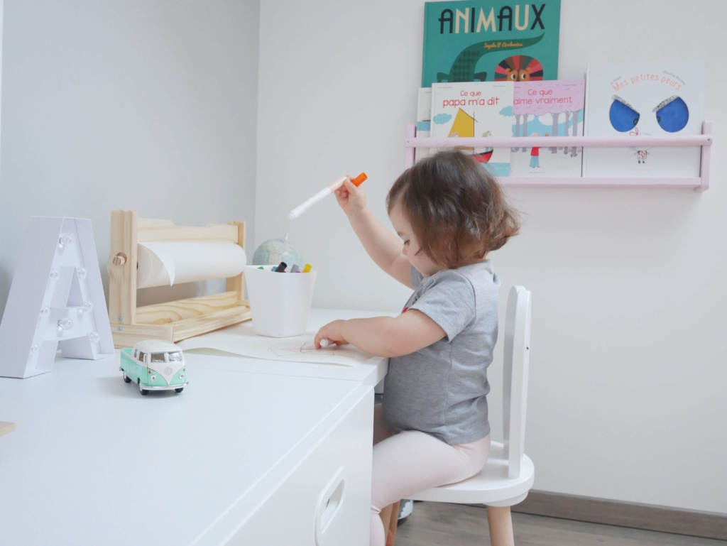 BUREAU IKEA STUVA POUR ENFANT