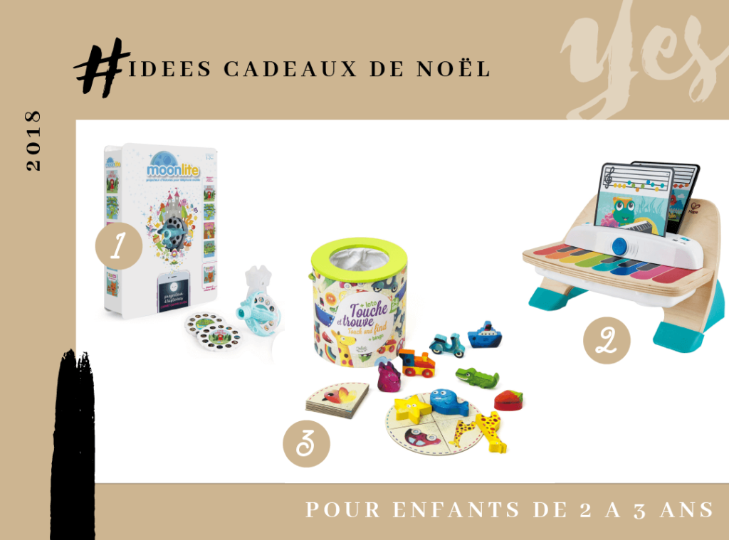 NOEL IDEES CADEAUX ENFANTS